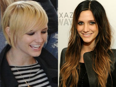 Holy Crop! Ashlee Simpson Debuts her Newly Blonde Pixie Cut