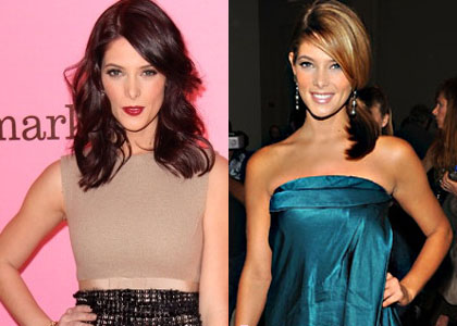 Hot or not? Ashley Greene 's brunette hair