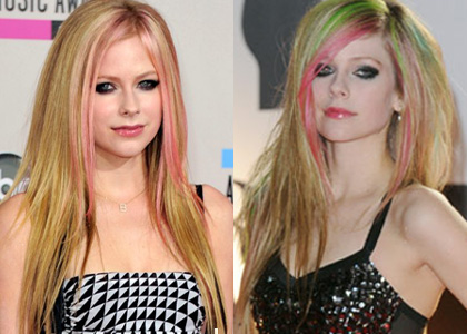 Hot or not: Avril Lavigne's Green Hair