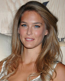 Bar Refaeli with Long Cury Hairstyle