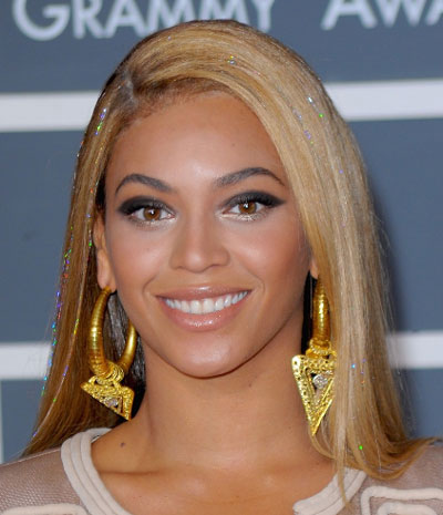 Beyonce's Long Straight Hairstyle