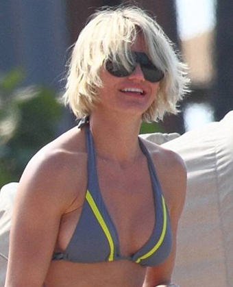 Cameron Diaz Gets New Haircut