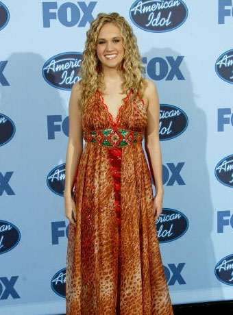 Carrie Underwood's Long Curly Hairstyle