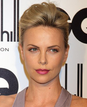 Charlize Theron's Beautiful French Twist
