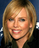 Charlize Theron in a Layered Chin Length Bob on the Sundance Red Carpet 2009