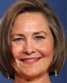 Cherry Jones's Bob Hairstyle at Emmy Awards 2009
