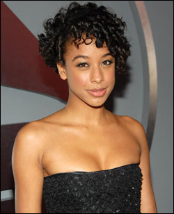 Corinne Bailey Rae's Short Curly Hairstyle