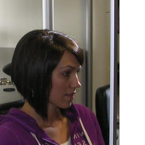 Long Angled Bob Haircut Back