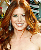 Debra Messing at 2008 Emmy Awards