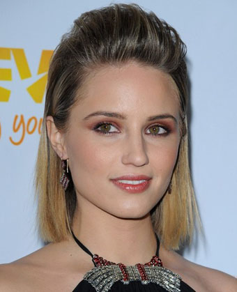 Dianna Agron's Slicked Back Hairstyle