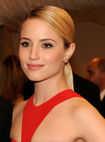 Dianna Agron's Sleek Ponytail