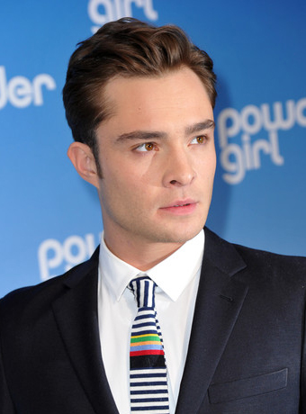 Ed Westwick's Classic Short Hairstyle
