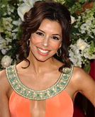 Eva Longoria Long Curly Hairstyle at the 2005 Emmy Awards