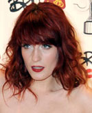 Florence Welch's Flame-red Hairstyle