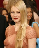 Gwyneth Paltrowt Hairstyle at Oscar 2007