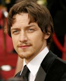 James McAvoy's Haircut at Oscar 2007
