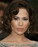 Jennifer Lopez's Hairstyle at Oscar 2007