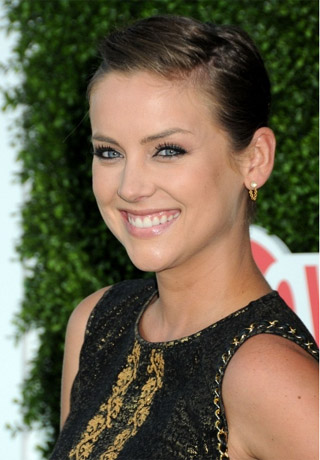 Jessica Stroup's  Short Hairstyle