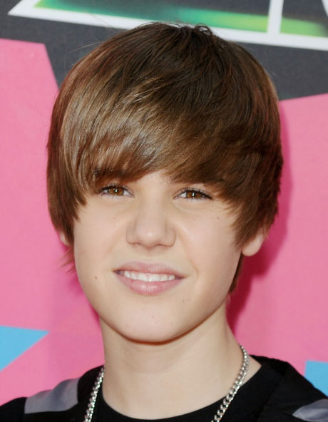 Justin Bieber's Pixie Haircut with Bangs