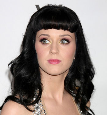 Katy Perry Black Hair color