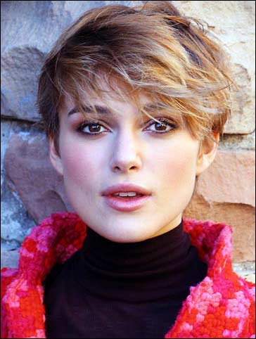 Keira Knightley's Sexy Short Haircut