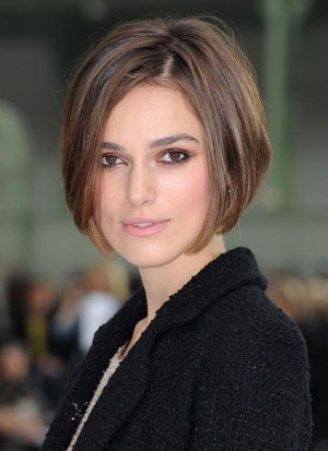 Incredible Keira Knightley39S Straight Bob Hairstyle Inspiration Daily Dogsangcom