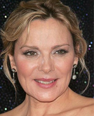 Kim Cattrall at the New York Premiere of Sex and The City