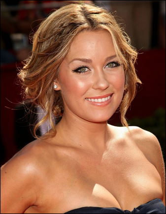 lauren conrad on the red carpet