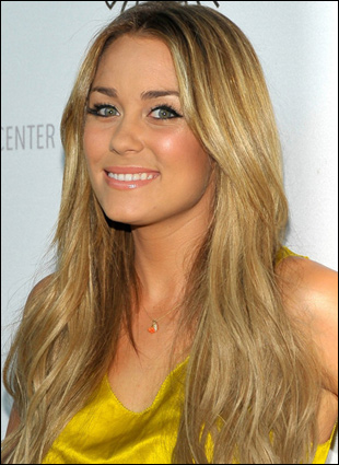 Lauren Conrad Loose Long Wavy Hairstyle