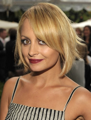 Nicole Richie's  Blonde Short Hairstyle