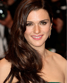 Rachel Weisz Wearing Long Sexy Side Swept Hairstyle