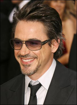 Robert Downey Jr hairstyles