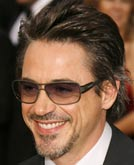 Robert Downey Jr's Haircut at Oscar 2007