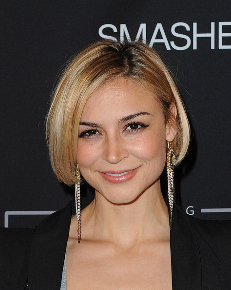 Samaire Armstrong's Bob Hairstyle