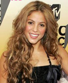Shakira's Curly Hairstyle