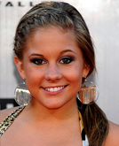 Shawn Johnson's Colorful Crown Braid Hairstyle