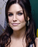 Sophia Bush with Long Curly Hairstyle