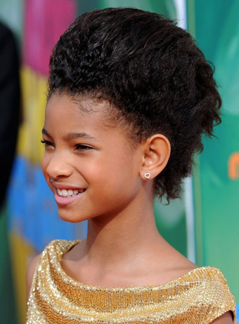 Willow Smith's Pompadour Updo