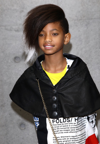 Willow Smith's Side Swept Hairstyle