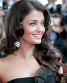 Aishwarya Rai New Curly Hairstyle