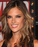 Alessandra Ambrosio's Loose Layered Hairstyle at MTV VMAs 2009