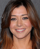 Alyson Hannigan's Long Medium Swept Hairstyle at 2010 People's Choice Awards