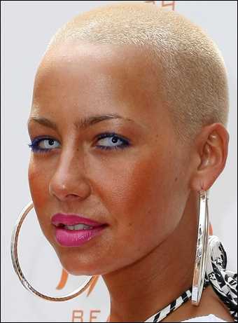 model amber rose with hair. hair amber rose with hair.
