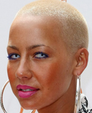 Amber Rose's Shaver Hairstyle