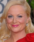 A Deep Side-part Accentuates Amy Poehler's Seductive Curves