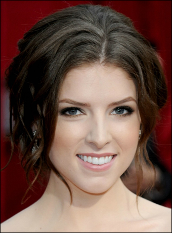 anna kendrick hairstyles. Anna Kendrick#39;s Elegant French