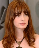 Anne Hathaway Long Curly Hairstyle
