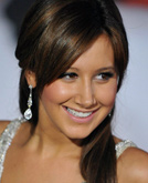 Ashley Tisdale's Long Straight Hair
