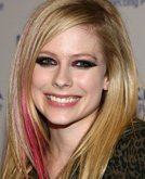 Avril Lavigne's Straight Hair