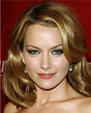 Becki Newton Blond Curly Hairstyle